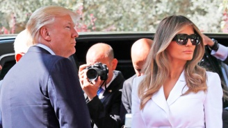 Melania Swatted Away Trump's Hand In Israel, And The Internet Is Trying To Decode Her Actions