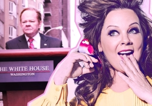 'SNL' Scorecard: Melissa McCarthy's Sean Spicer Finally Makes Out With Donald Trump
