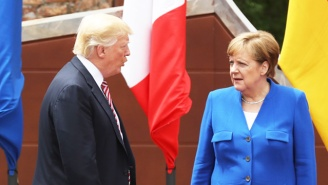 Angela Merkel's Opponent In The German Election Slams Trump's 'Unacceptable' Treatment Of Her