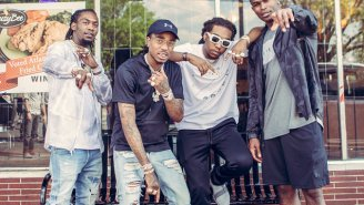 Migos Pulled In Julio Jones For Their New ATL-Centric '11 Birds' Video