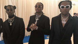 Migos Fans Are Thrilled To See Them Looking 'Bad And Boujee' On The Met Gala Red Carpet