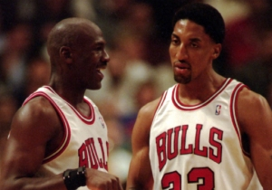 Scottie Pippen Thinks Kenny Smith's Belief That Houston Was Better Than MJ's Bulls Is Wrong