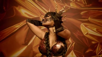 Nicki Minaj And Lil Wayne Shine In David Guetta's Opulent 'Light My Body Up' Video
