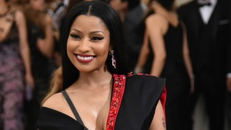 Nicki Minaj Looks Like She's Trying To Break Into Gospel Now