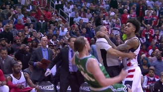 Washington's Kelly Oubre Jr. Will Miss Game 4 After Fighting With Kelly Olynyk