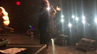 Paul Heyman Introduced Desiigner At His NYC Concert And It Was Lit