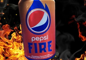 Pepsi Is Making Cinnamon Flavored Soda Now, If You're Into That Sort Of Thing