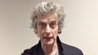 Peter Capaldi Has Your Daily Reminder That Humankind Can Be Good