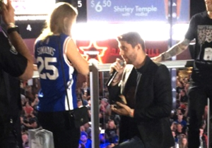 Watch As Two Sixers Fans Got Engaged At An NBA Draft Lottery Party