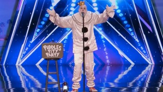 A Sad Clown Named 'Puddles Pity Party' Killed Sia's 'Chandelier' On 'America's Got Talent'