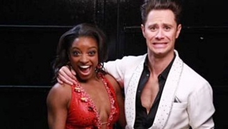 Simone Biles Shut Down The 'DWTS' Judges With 'Smiling Doesn't Win You Gold Medals' And Everyone Loved It