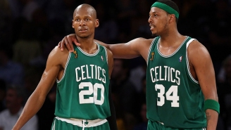Ray Allen Posted A Lengthy Tribute To Paul Pierce On Instagram After His Celtics Jersey Retirement