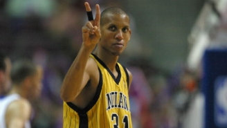 Reggie Miller Went To The Pacers Facility And Showed He's Still An Elite Three-Point Shooter