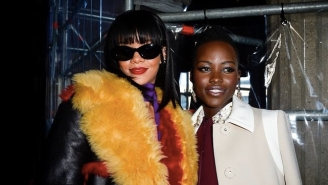An Internet Meme About Rihanna And Lupita Nyong'o Is Becoming An Actual Netflix Movie