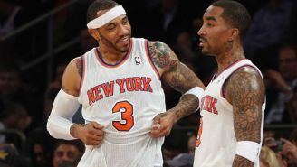 Kenyon Martin Nearly Beat Up J.R. Smith After A Locker Room Prank