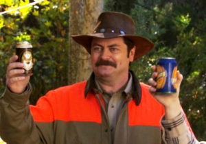 These Ron Swanson Tips Will Help You Survive Nature