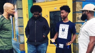 Questlove, Common And Black Thought Made A Young Street Drummer's 'Dream Come True'