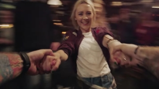 Ed Sheeran Gets Punched In The Face At A Bar In The 'Galway Girl' Video