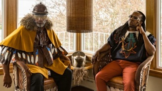 Shabazz Palaces Are Releasing Another, Extra-Spatial Twin Album 'Quazarz Vs. The Jealous Machines'