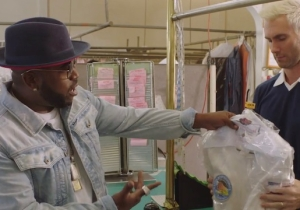 Big Boi And Adam Levine's 'Mic Jack' Video Is A Dry Cleaning Odyssey Complete With A Quick Trip To Space