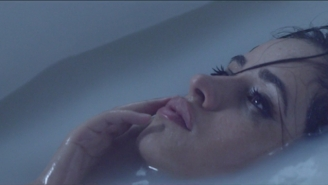 Camila Cabello's 'Crying In The Club' Video Has Her Dancing In A Glass Box And Shedding A Single Tear