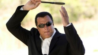 Steven Seagal Is Deemed Too 'Dangerous' To Enter Ukraine, Gets A Five-Year Ban