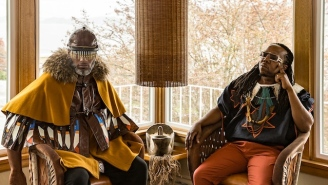 Shabazz Palaces Bring Heavy Doses Of Cosmic Mysticism To Their New Single 'When Cats Claw'