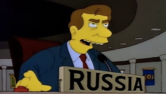 Ukraine Mocks Russia With A 'Simpsons' GIF, Proving There's A 'Simpsons' Reference For Every Occasion