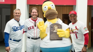 Homer Simpson Officially Enters The Baseball Hall Of Fame 25 Years After 'Homer At Bat'