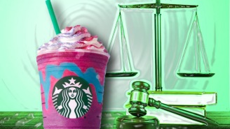 Starbucks Is At The Center Of A Strange Lawsuit Thanks To Their Unicorn Frappuccino