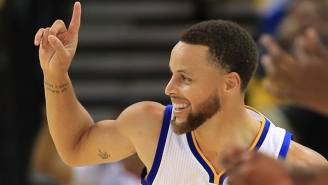 Is This Steph Curry Assist To JaVale McGee A Pass Or A Jumper That Went Horribly Awry?
