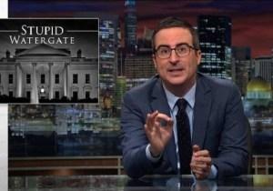 'Stupid Watergate' Returns To Vex John Oliver On 'Last Week Tonight'