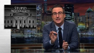 'Stupid Watergate' Returns To Vex John Oliver On 'Last Week Tonight'