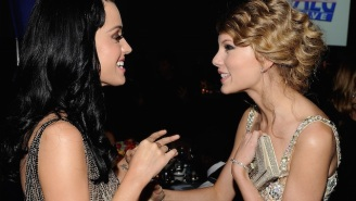 Katy Perry Sidesteps A Question About Taylor Swift's 'Bad Blood' While Still Saying Plenty