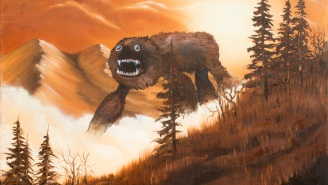 This Artist Infuses Forgotten Paintings With Whimsy By Adding Monsters