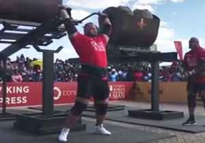 'The Mountain' From 'Game Of Thrones' Barely Lost The World's Strongest Man Competition
