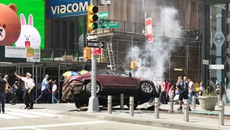 A Driver Reportedly 'Lost Control' And Plowed Through Pedestrians At Times Square, Killing One Person