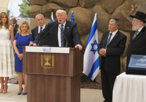 Trump's 'So Amazing' Holocaust Memorial Note Is, Uh, Different Than The One Obama Wrote
