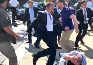 Turkish President Erdogan's Guards Will Be Charged For Roughing Up Protesters In D.C.