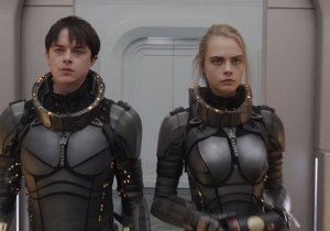 The Third Trailer For 'Valerian' Continues To Channel 'The Fifth Element'