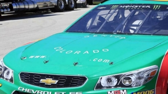 NASCAR Made A Driver Take A Weed Vaping Sponsorship Off His Car Because He Misspelled The Company's Name