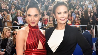 Gal Gadot Celebrates The 'Wonder Woman' Premiere By Showing Some Respect To Lynda Carter