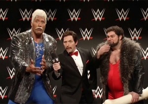 The Rock Sends Bobby Moynihan Off 'SNL' With Some More Very Personal WWE Smack Talk