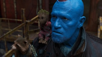 Yondu (Okay Michael Rooker) Met Mary Poppins And It Was Magical