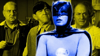 Before He Was Batman, Adam West Played The Straight Man In The Final Three Stooges Film