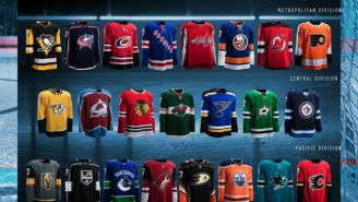 Adidas Is Taking The NHL Into The Future With Its New Jersey Reveal