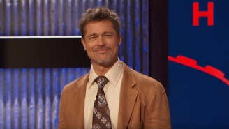 Weatherman Brad Pitt Offered 'The Jim Jefferies Show' A Depressing Forecast About Climate Change