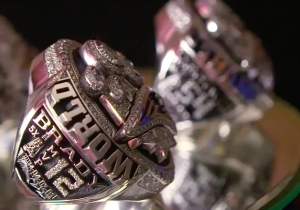 Even The Patriots' Super Bowl Rings Troll The Falcons For Blowing A 28-3 Lead