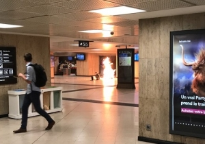 Brussels Police 'Neutralized' A Suspect At A Train Station After Witnesses Heard Explosion-Like Noises