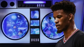 What's Going To Happen To Jimmy Butler's Massive Boombox Aquarium Now That He's Been Traded?